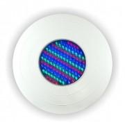Refletor LED 130 pontos RGB ABS - Frente Grande 27cm para Nicho Antigo Brustec