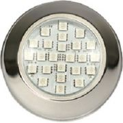 Refletor Power LED 5w LUZ BRANCA Inox Brustec