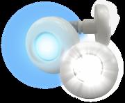 Refletor Power LED Branco 4,5w ABS Tholz