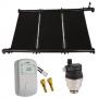 Kit Aquecimento Solar para Piscina 10m² Ks Aquec. Controlador 220V - Sol e Água Piscinas e Acessórios