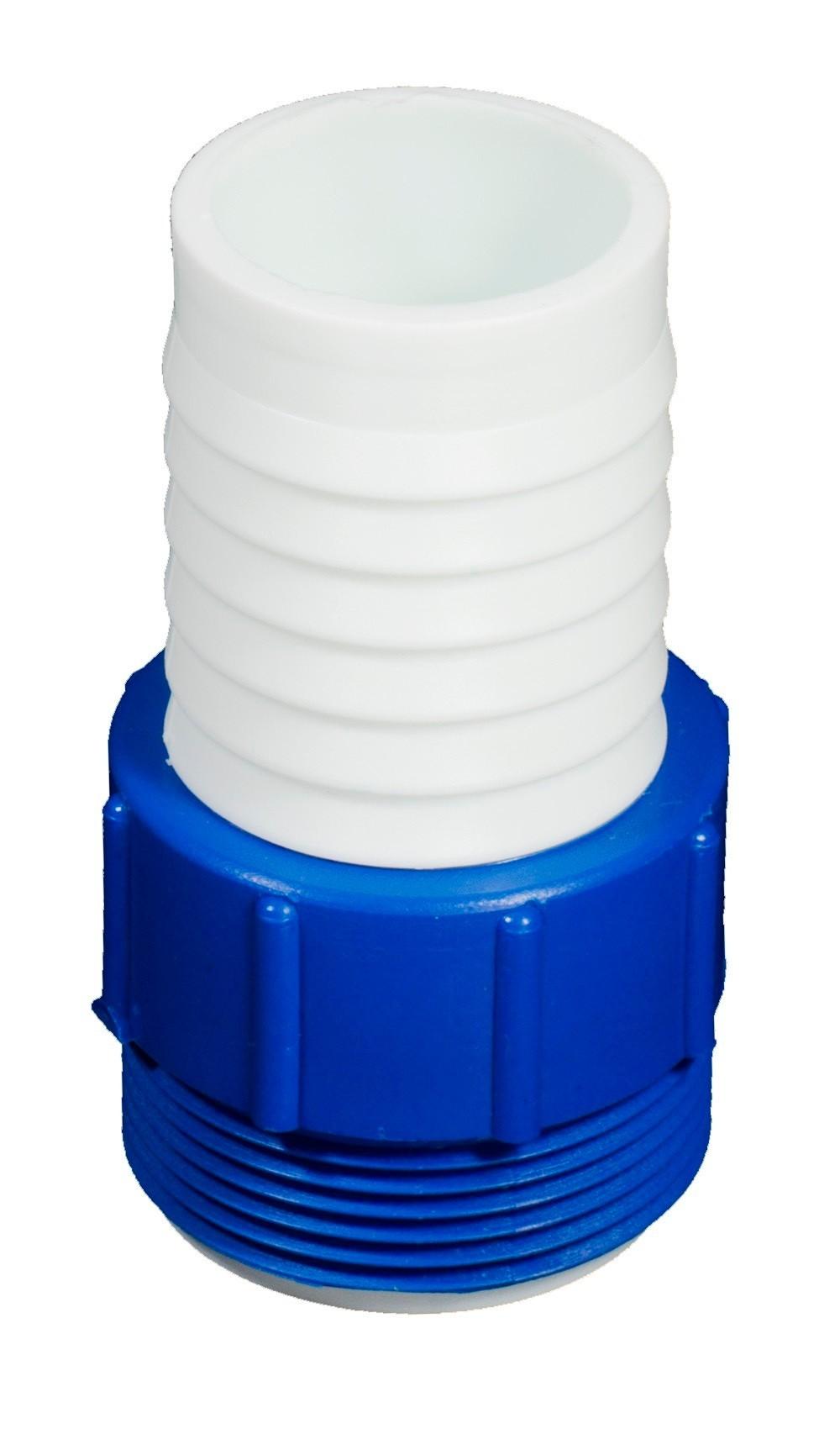 Adaptador para conexão de mangueiras rosca 1.1/2. - Brustec
