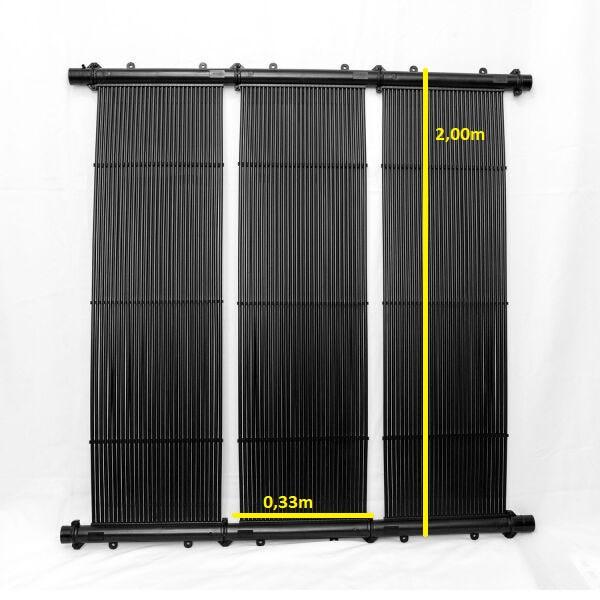 Aquecedor Solar TekSol-20 (2,00x0,33m)