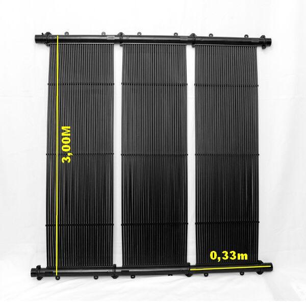 Aquecedor Solar TekSol-30 (3,00x0,33m)