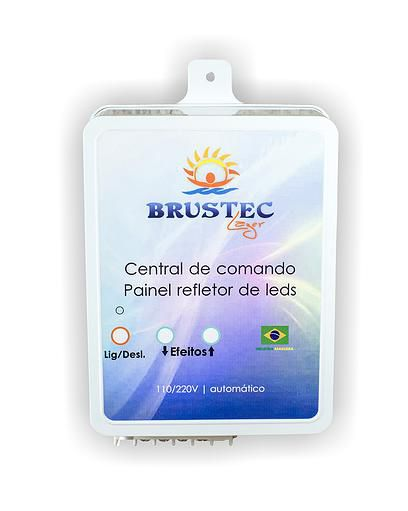 Central de Comando LED RGB 3A - Brustec