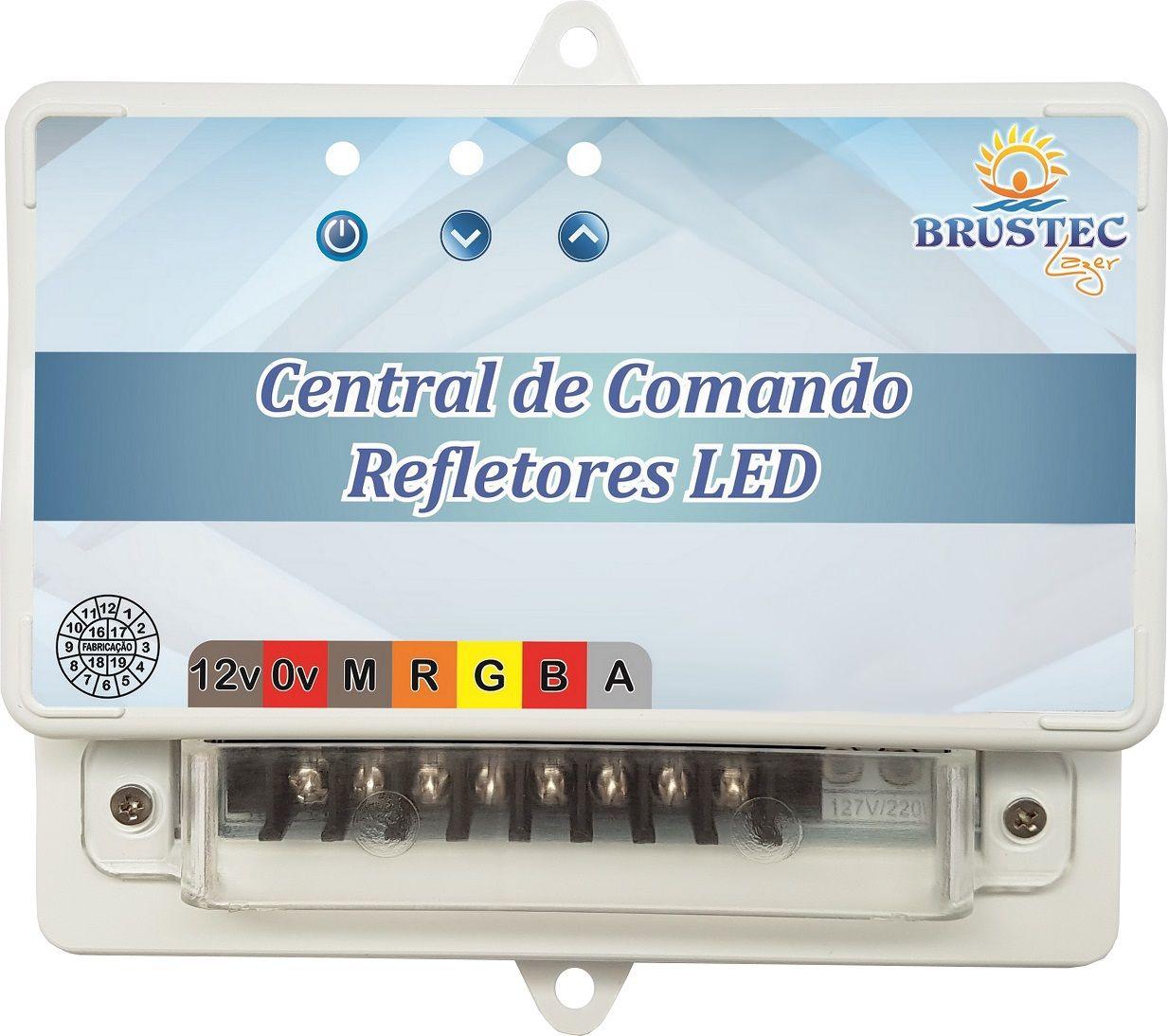 Central de Comando RGB Standard SMD Rítmica Brustec