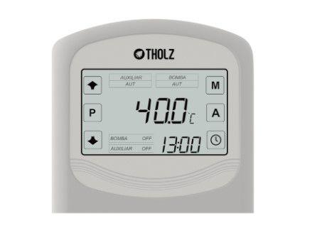 Controlador Eletrônico Temperatura Aquecimento Solar e Apoio TSZ - Tholz 220v