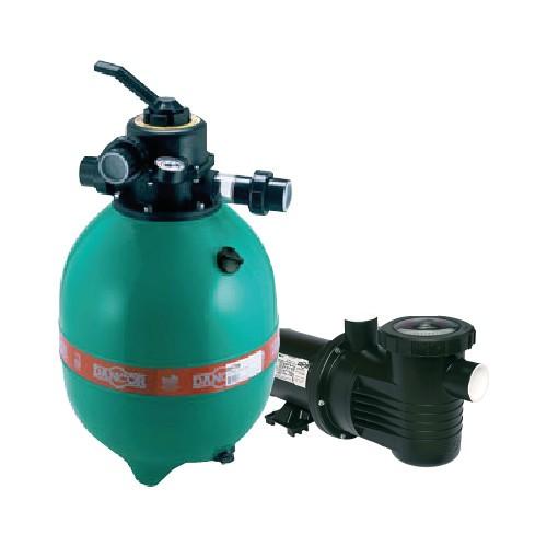 Filtro e bomba Dancor 1,5cv para Piscinas até 100.000L
