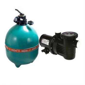 Filtro e bomba Dancor 2cv para Piscinas até 147.000L