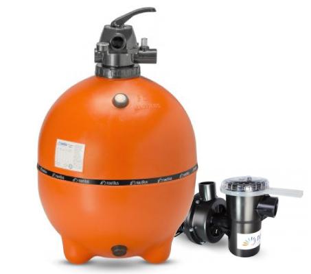 Filtro e bomba Nautilus 1,0cv para Piscina até 100.000L