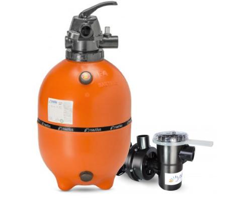 Filtro e bomba Nautilus 1/2cv para Piscina até 52.000L