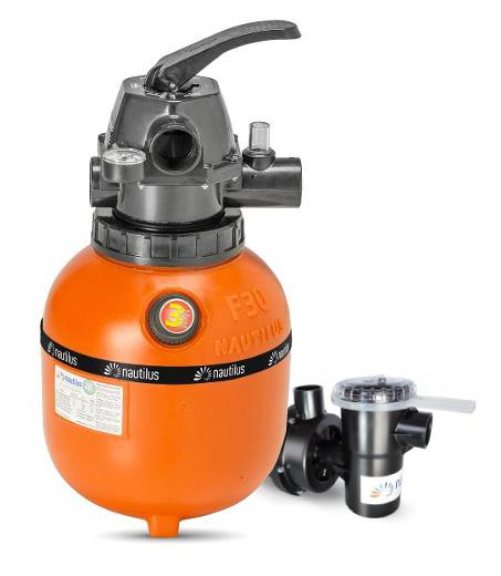 Filtro e bomba Nautilus 1/4cv para Piscina até 16.000L