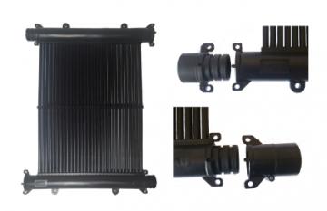 Kit Aquecedor Solar Piscina 28m² TekSol, Controlador 220V