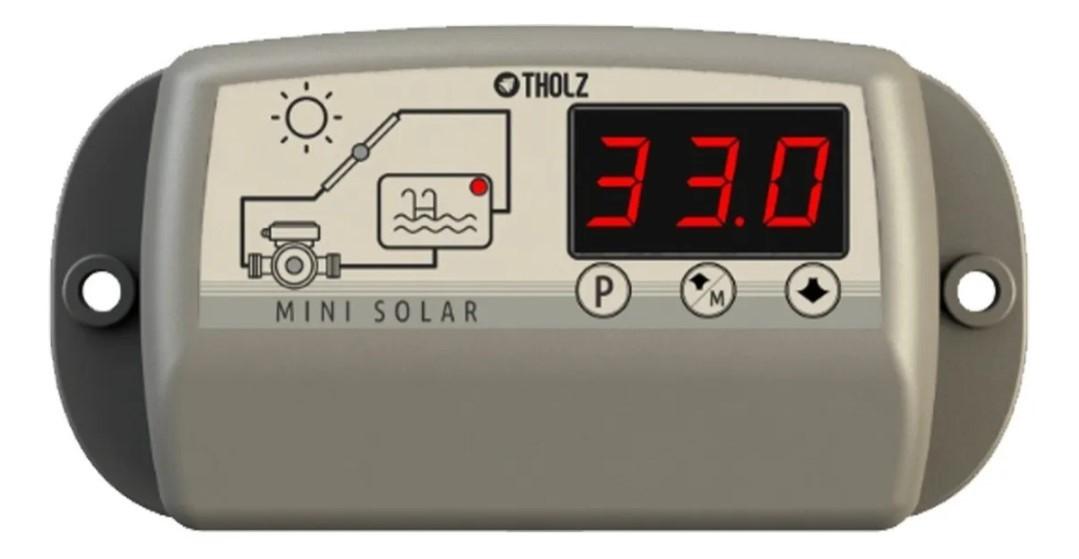 Kit Aquecedor Solar Piscina até  10m² e/ou até 14 mil litros TekSol Controlador Bivolt