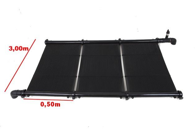 Kit Aquecimento Solar para Piscina até 12m² e/ou até 15 mil litros Ks Aquec. Controlador Bivolt