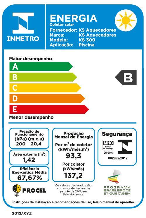 Kit Aquecimento Solar para Piscina até 18m² e/ou 23 mil litros Ks Aquec. BIVOLT