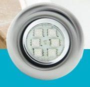 Kit Iluminação Para Banheira Brustec 01 Refletor LED RGB e Central de Comando