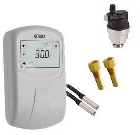 Kit - Controlador Eletrônico 220V, Válvula Quebra-Vácuo e Poços Sensores