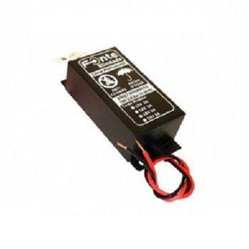 Kit Iluminação 2 Refletores 5W ABS e Central Sonora - Brustec