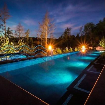 Kit Iluminação 3 Refletores 9W RGB ABS e Central Sonora - Brustec