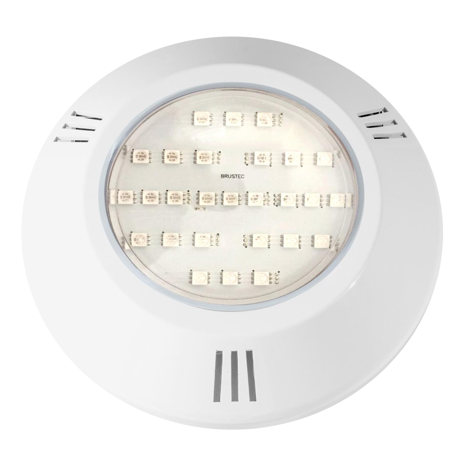 REFLETOR POWER LED 6W RGB - ABS FRENTE NEW BRUSTEC