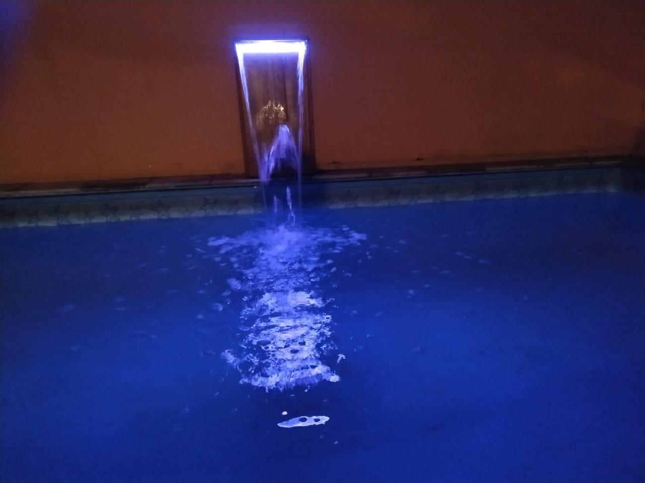 Refletor LED RGB Linear Para cascata de 80cm
