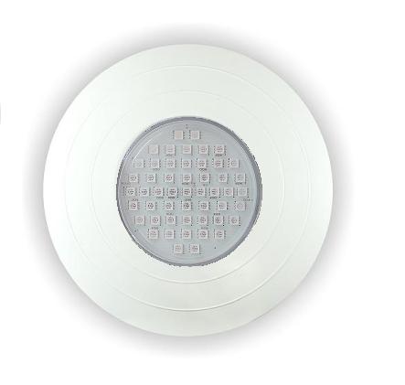 Refletor Power LED RGB 15w ABS - Frente Grande 27cm para Nicho Antigo Brustec