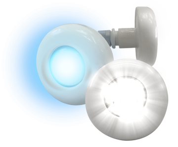Refletor Power LED RGB 4,5w ABS Tholz