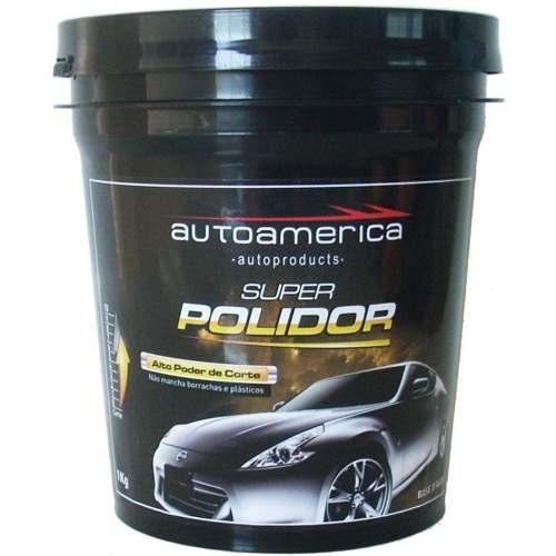 79b7dc8a34fcd Super Polidor Autoamerica - 1kg - Massa De Polir - Polimento