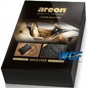 AREON LEATHER COLLETION GOLD STAR ESTRELA DE OURO