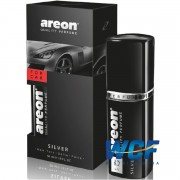 AREON FOR CAR PERFUME SILVER PRATA  50ML