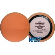 BUFF AND SHINE BOINA DE ESPUMA AGRESSIVA  LARANJA 7,5 COM ANEL