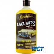 CADILLAC SHAMPOO COM CERA HIGH SHINE 500 ML