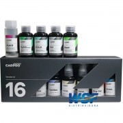 CARPRO CUBE BOX 16 PCS KIT LIMPEZA DESCONTAMINCAO PROTECAO