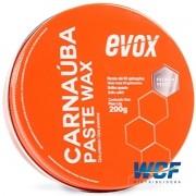 CERA CARNAUBA PASTE WAX 200G EVOX