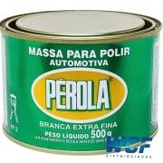 PEROLA MASSA DE POLIR N2 BASE SOLVENTE 500G