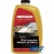 SHAMPOO DE CARNAUBA AUTOMOTIVO WASH E WAX MOTHERS 1800ML
