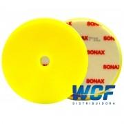 SONAX BOINA DE ESPUMA AMARELA 165MM C/FURO 6POL
