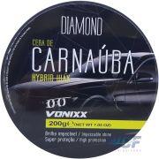 VONIXX CERA CARNAUBA HYBRID SUPER PROTETORA 200 GR