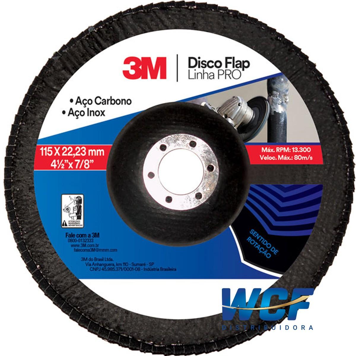 3M DISCO FLAP DISC 80