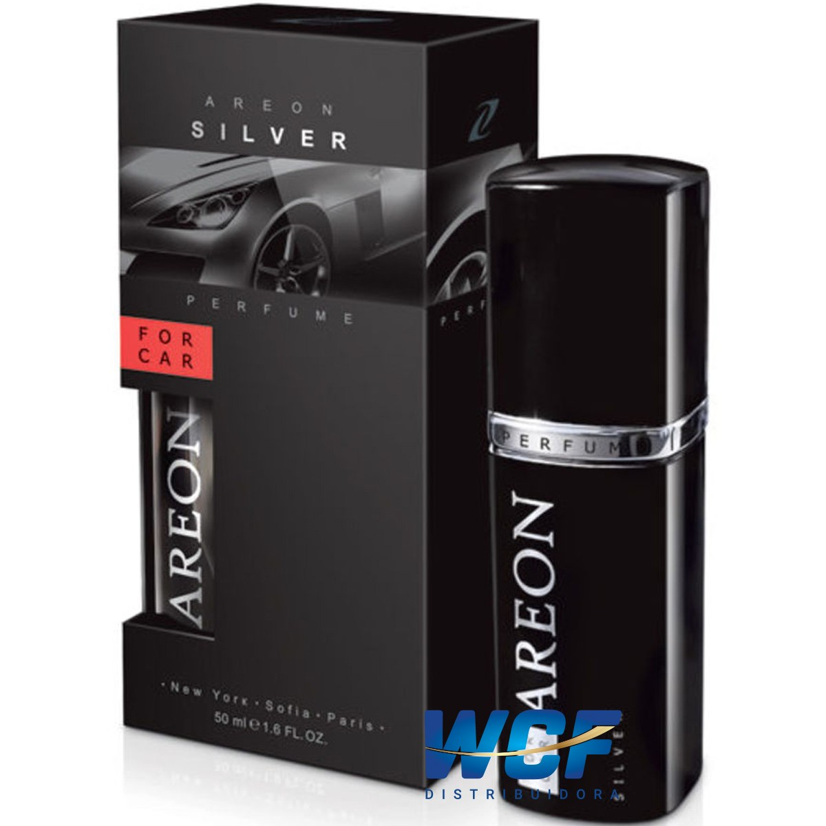 AREON PERFUME BLACK PRETO  50ML