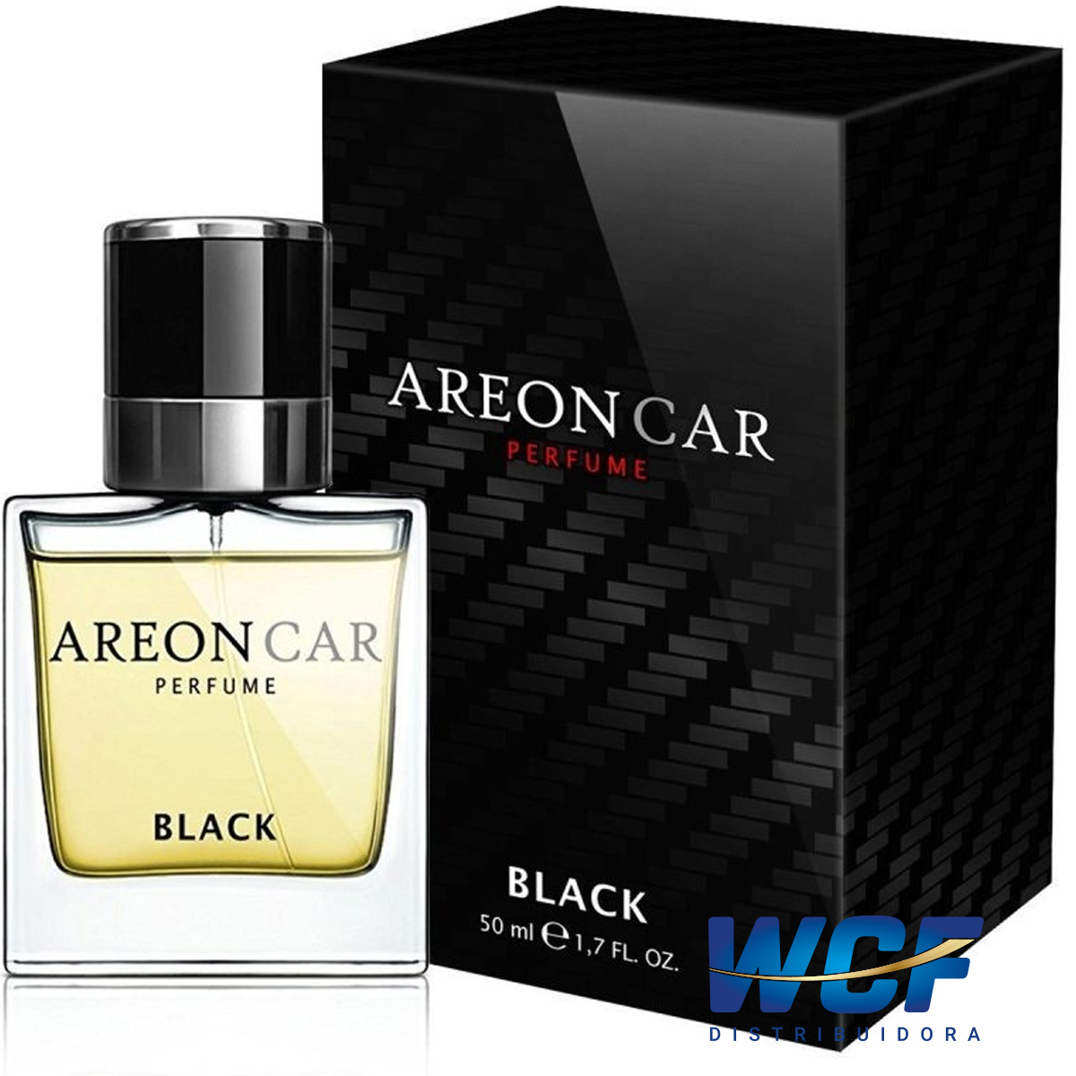 AREON PERFUME BLACK PRETO  50ML