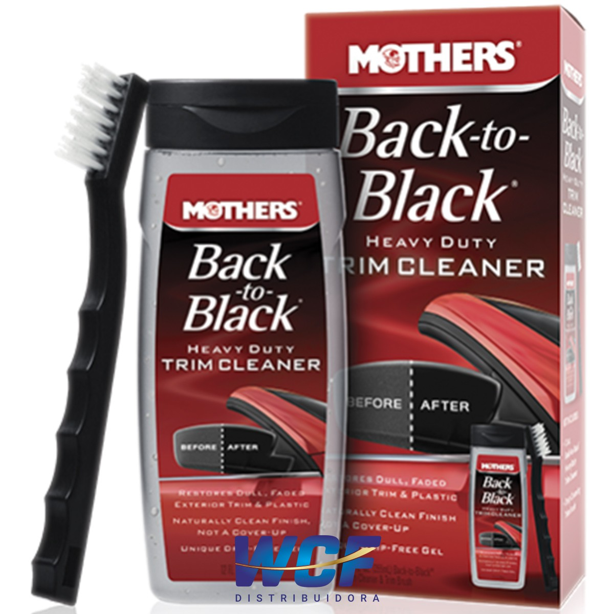 AUTOAMERICA BACK TO BLACK TRIM CLEANER C ESCOVA