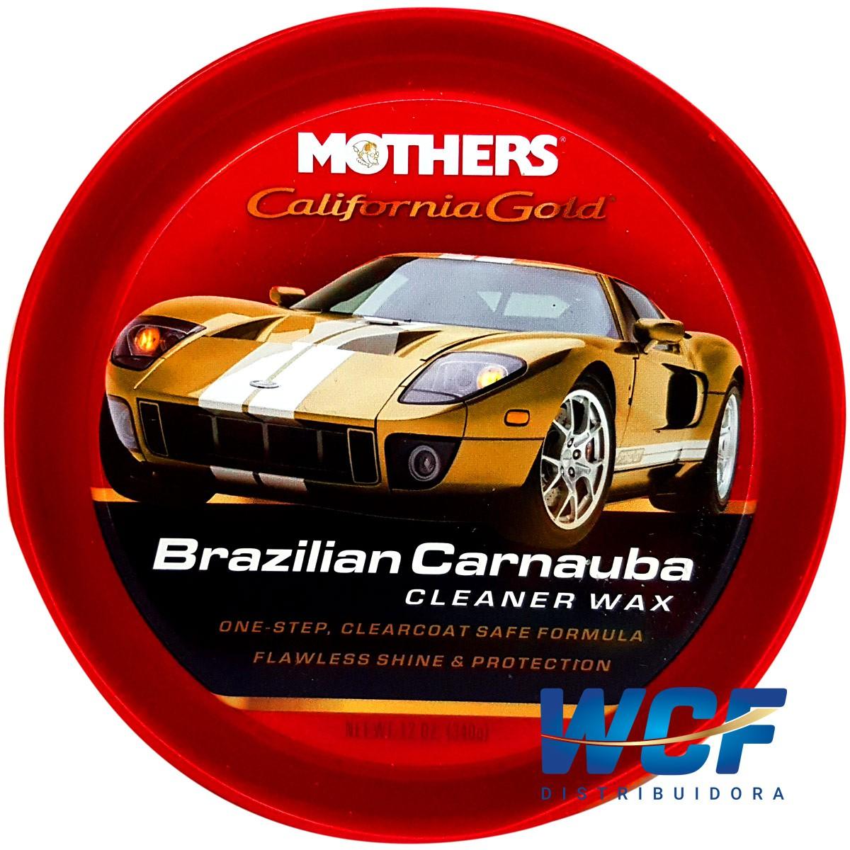 MOTHERS CERA DE CARNAUBA CLEANER WAX PASTA 340G