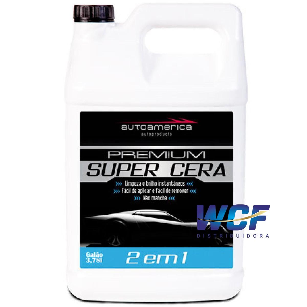 AUTOAMERICA SUPER CERA 3.78 LT