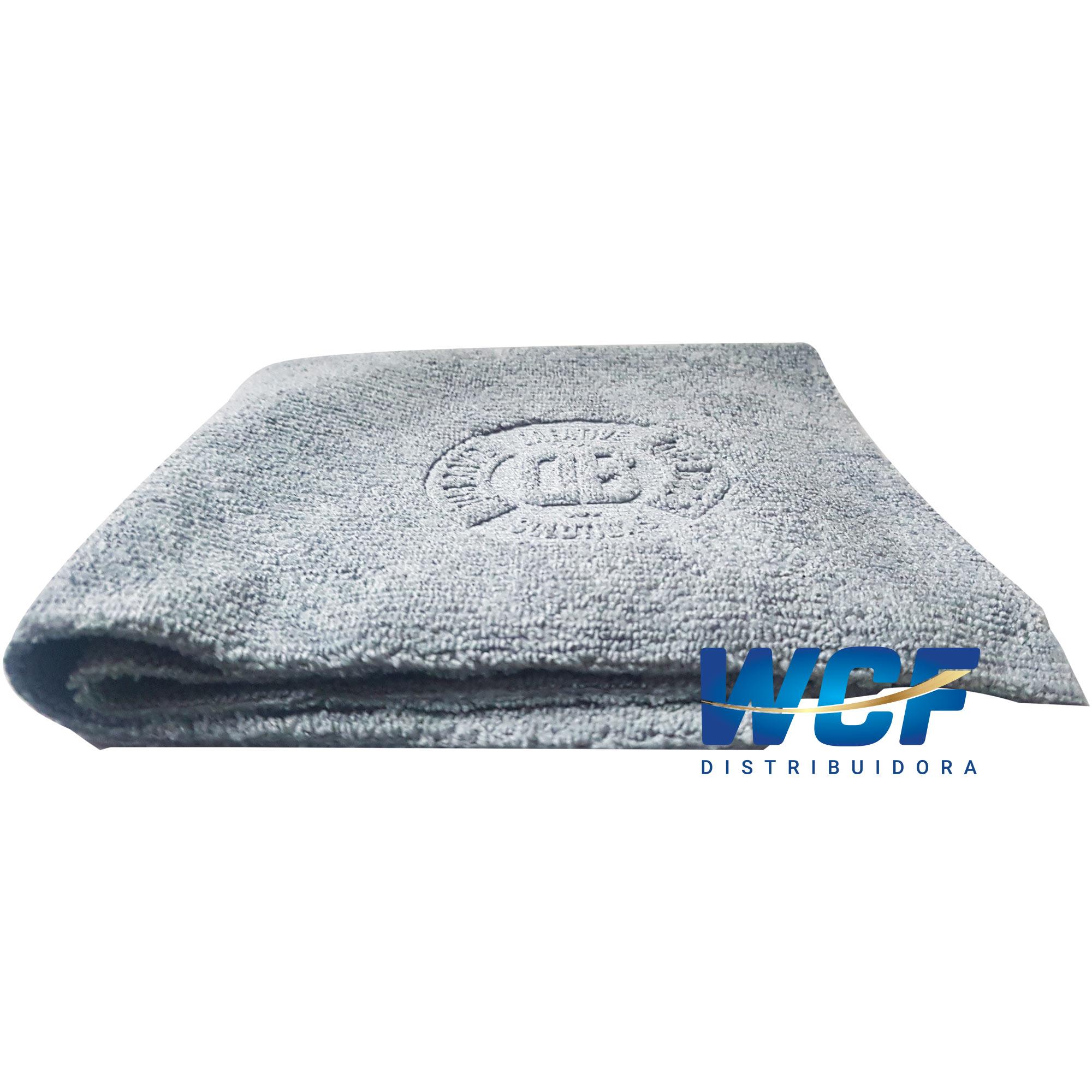 DUB BOYZ Toalha de microfibra Coat 300 GSM 30X30 (Cinza)