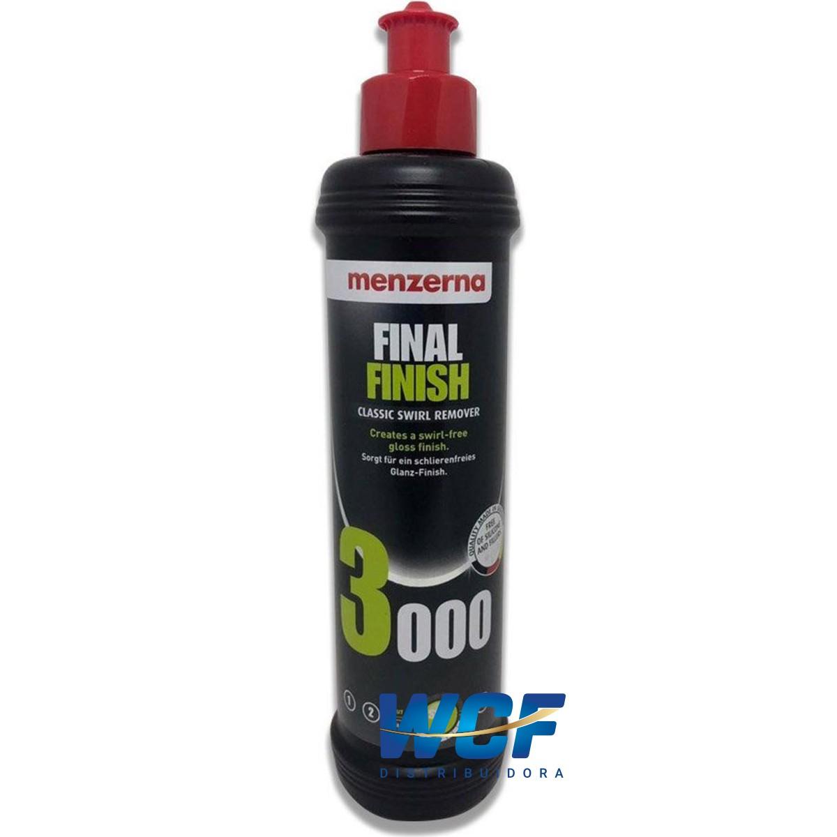 FINAL FINISH 3000 CLASSIC SWIRL REMOVER 250ML MENZERNA