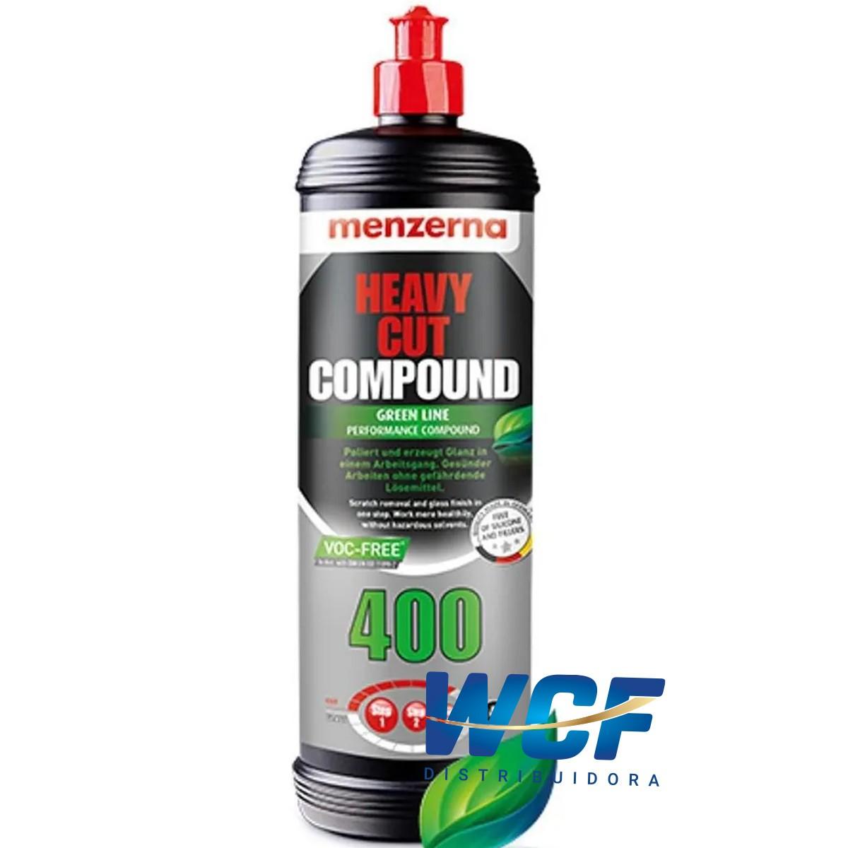 HEAVY CUT COMPOUND GREEN LINE PERFORMANCE 400 1LT MENZERNA