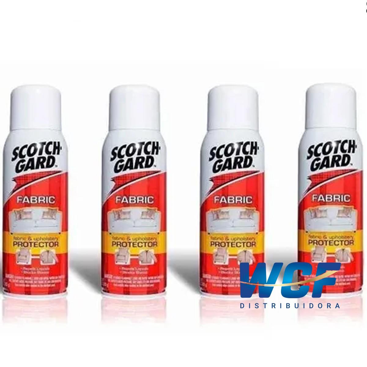 Kit Com 4 Scotchgard 3m Protector Spray Impermeabilizante
