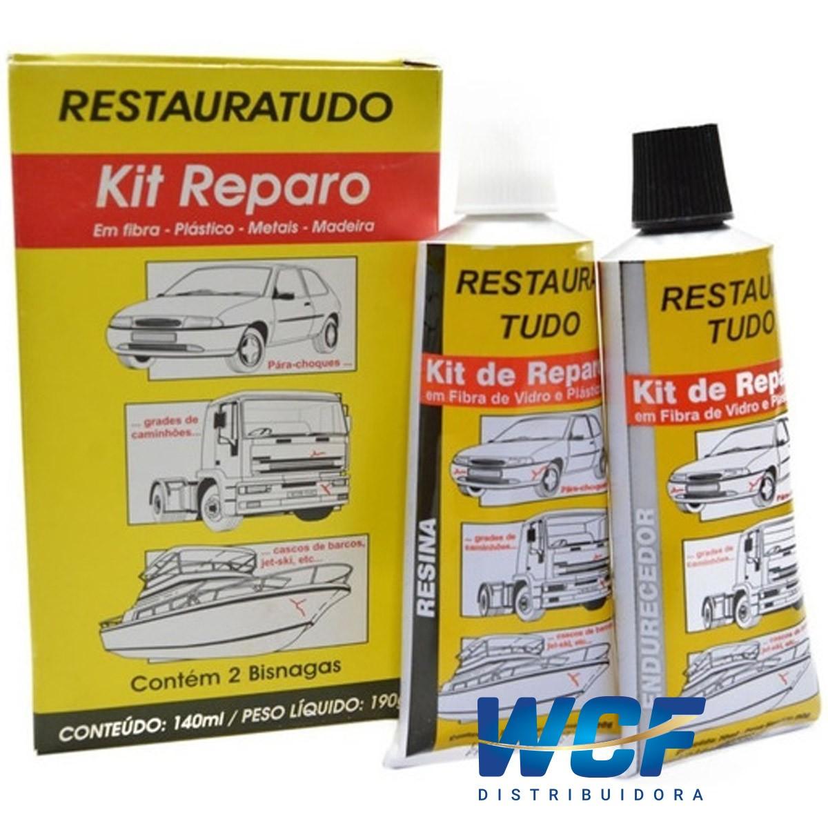 KIT DE REPARO REPARA CHOQUE 190 G VEDA CHOQUE