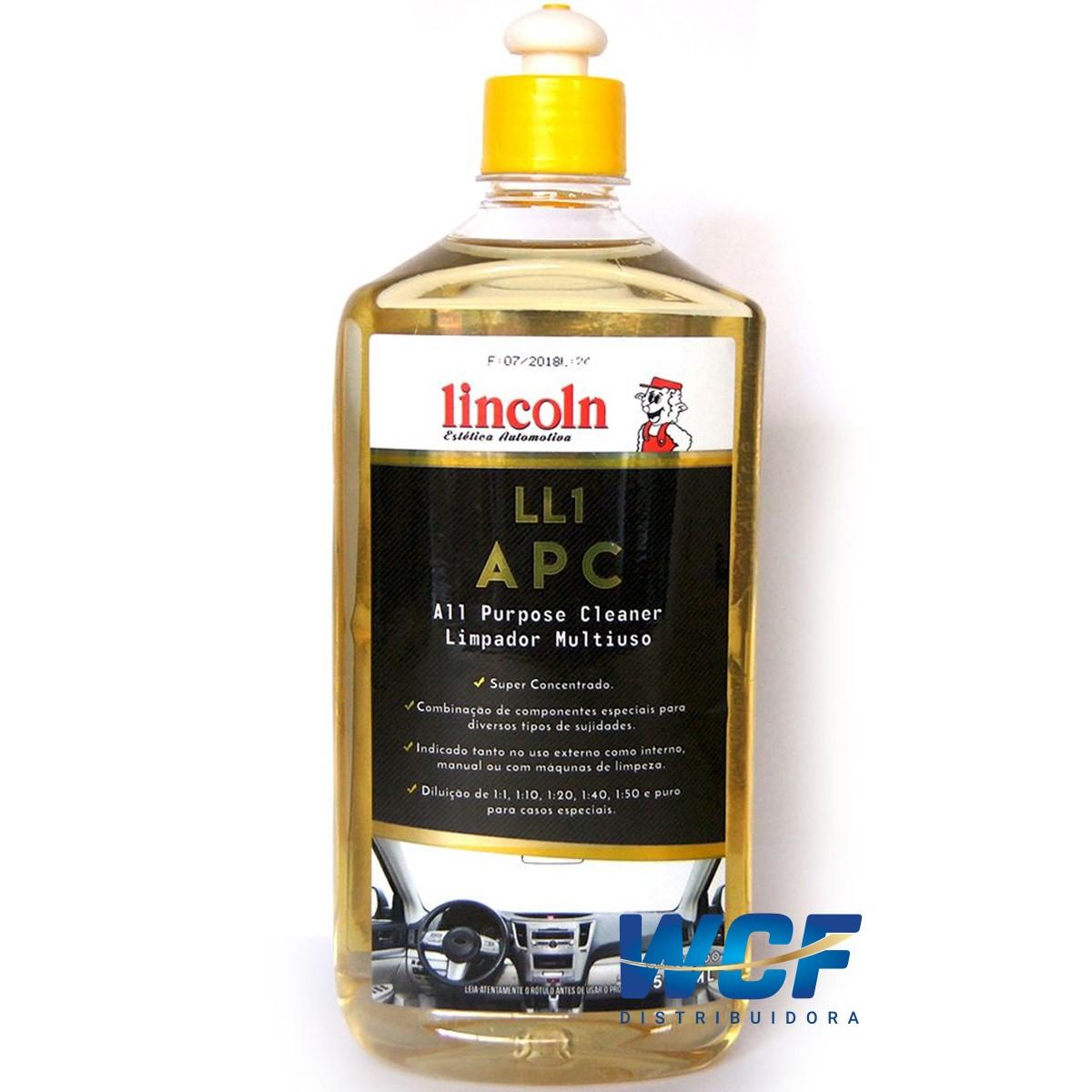 LINCOLN APC LIMPADOR MULTIUSO LL1 500ML